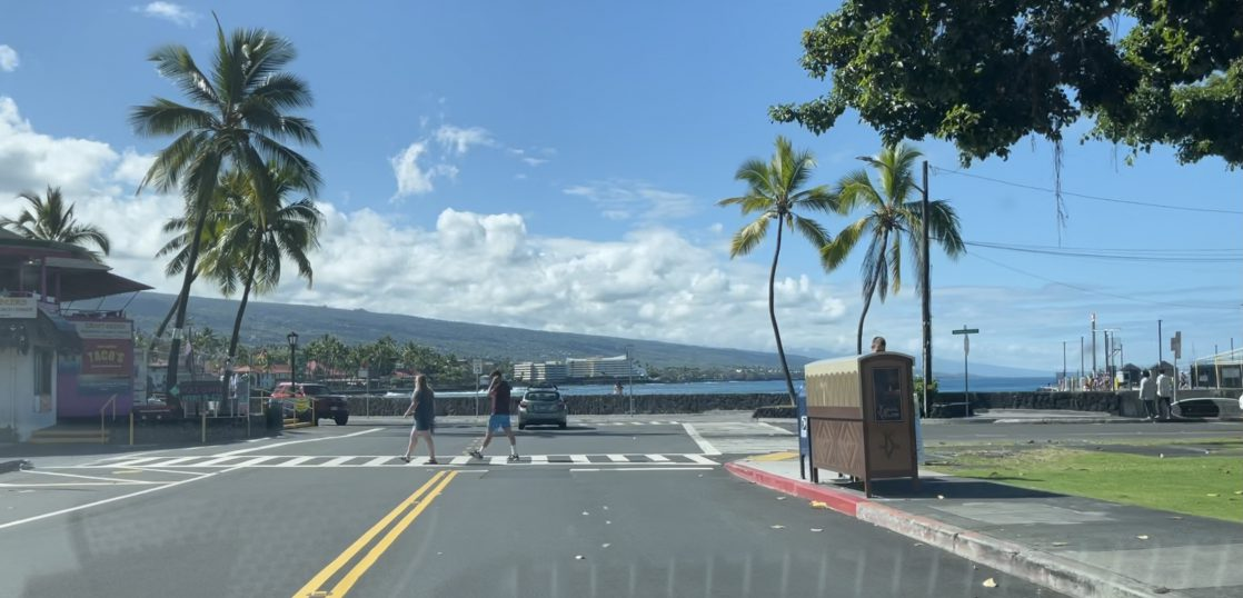 ハワイ島カイルアコナ